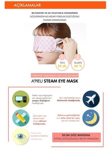 Missha Apıeu Steam Eye Mask Isıtma Etkili Göz Bandı Renksiz
